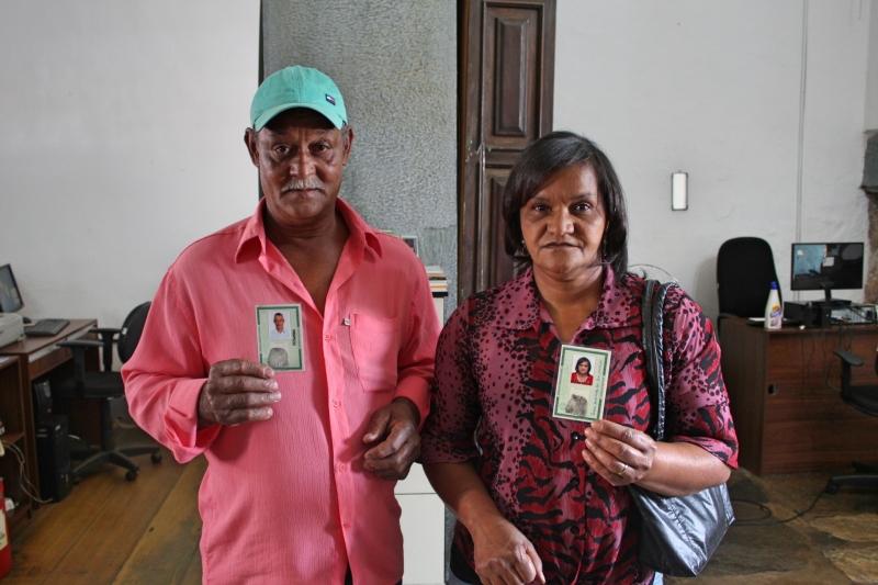 Ademir Tito Messias, 56 anos, e Zélia Aparecida dos Reis Messias, de 52