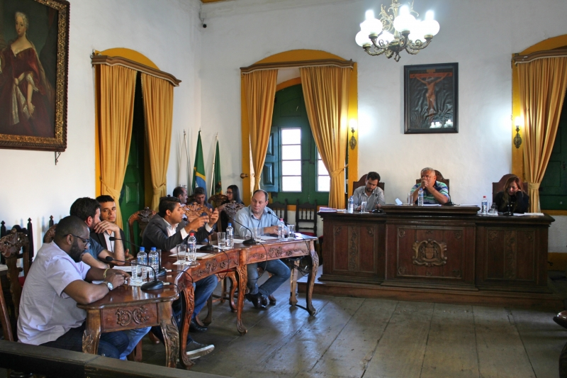 Vereadores debatem atual situação da Guarda Municipal.