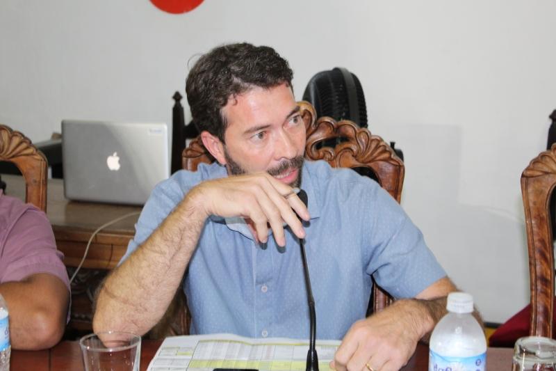 Vereador Gerson Cunha, autor do Requerimento 141/2020