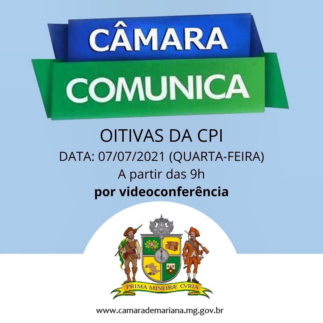 Acompanhe ao vivo as oitivas da CPI hoje, 07/07/2021